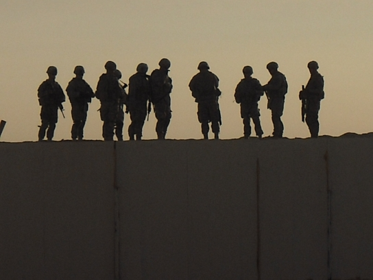 Luke's Band of Brothers in Iraq
