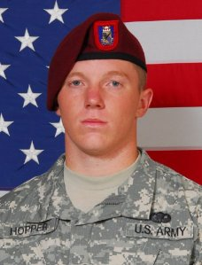 Pfc. Lukas Hopper, 1/505th, 10-30-09 Iraq